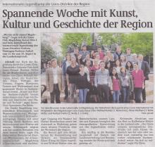 Magdeburger Volksstimme - 29.8.2011
