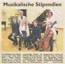 Musikalische Stipendiaten