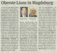 Oberste Lions in Magdeburg