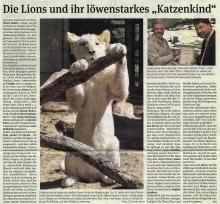"""Die Lions und ihr löwenstarkes """"Katzenkind"""""""